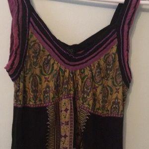 Mini Boho Summer Dress